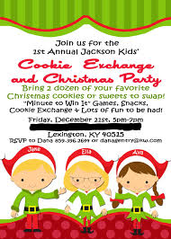 free christmas dinner invitations kids christmas party invitations kids cookie exchange invitations