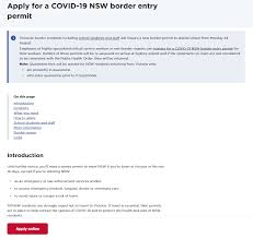 A system in crisis, a system in transition. Apply For A Digital Nsw Border Permit Now Digital Nsw