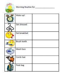 Thorough Morning Chore Chart Printable 2019