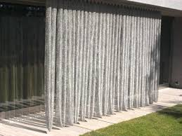 outdoor mesh curtains contemporary patio by whiting steel stainless metal curtain