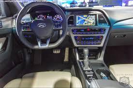 hyundai sonata 2015 black interior. 2014 new york auto show hyundai sonata 2015 black interior