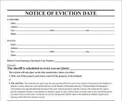 Eviction Notices Template 100 Eviction Notice Template Examples Templates Assistant 37