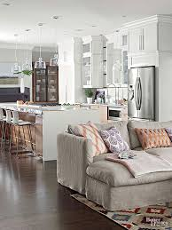 >living rooms with open floor plans form a perfect union