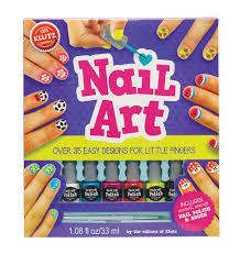 Klutz Book Nail Art For Little Fingers - Minds Alive! Toys Crafts ...