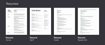 51 Lovely Image Of Google Drive Resume Template