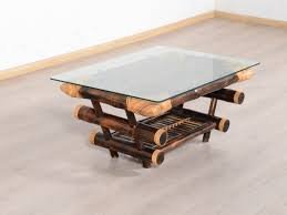 round glass large glass bamboo glass coffee table with vintage pertaining to bamboo coffee table
