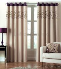 Lime Green Bedroom Curtains Hoops Aubergine Purple Lime Green Eyelet Ring Top Curtain