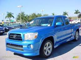 2007 Toyota Tacoma X-Runner in Speedway Blue Pearl photo #15 ...