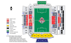 Bmo Field Detailed Seating Chart Actual Bmo Field Seating Chart Seat Number Bmo Field Seating