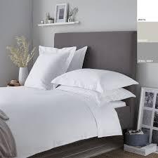 200tc cotton percale oxford duvet cover set