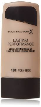 amazon max factor lasting performance ivory beige 101 foundation makeup beauty