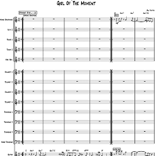 Girl Of The Moment Big Band Chart