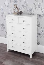 Tall Bedroom Chest Brooklyn White Bedroom Furniturewhite Chest Of Drawers Bedside
