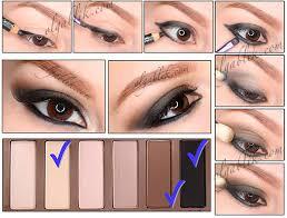smoky eyes with urban decay basics palette makeup tutorial olga b s olgablik photo beautylish