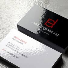 Buissness Cards Gloss Laminated Business Cards
