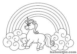 unicorn coloring page free printable