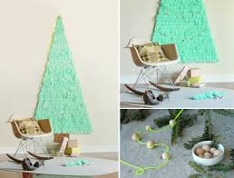 Wall Christmas Trees 100 Diy Christmas Decorations That Will Fill Your Home With Joy