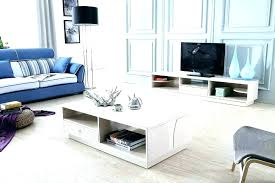 full size of matching glass tv stand and coffee table white stylish modern glossy cabinet