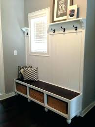 white entryway wall shelf with hooks hook home design ideas regarding mirror and shelves basket in