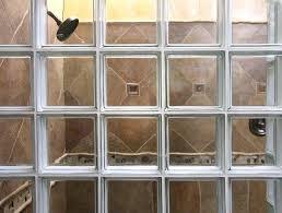 shower glass block shower window showers blocks in bathroom