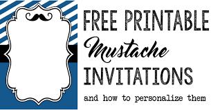 Template For Birthday Invitation Free Printable Birthday