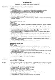 Mail Room Supervisor Resume Room Supervisor Resume Samples Velvet Jobs 16