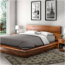 Solid Wood Platform Bed Frame