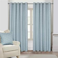 Geometric Pattern Curtains Classy Geometric Pattern Jacquard Blackout Eyelet Curtains Pair 48 Pass