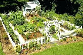 beautiful vegetable gardens garden fencing veggie designs