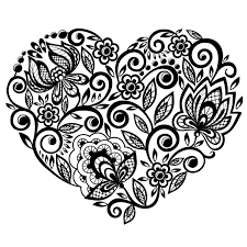 Small Picture Floral Coloring Pages