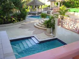 Swimming Pool:Amazing Small Pool Design For Small Yards With Unusual Shape  Design Also Iron