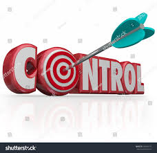 control word bullseye letter o targeting stock illustration  control word bulls eye in letter o targeting a position of power influence