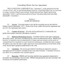 Consulting Contract Template Free Download Training Services Agreement Template