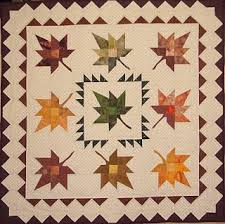 Quilt Inspiration: Free Pattern Day ! Autumn Leaves quilts & Leaf It To Joe, 67 x 67