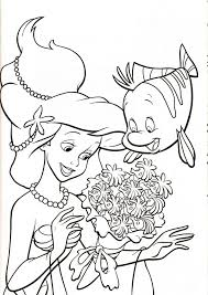Bellissimo Disegni Ariel Disney Da Colorare E Stampare Migliori