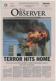 attacks page of the observer after the   11 2001 attacks page of the observer after the 11 2001 terrorist attacks tragic events 11