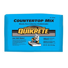 quikrete 80 lb gray high strength countertop concrete mix lowe s canada