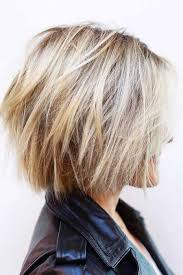 Short Blonde Hairtyles For Thick Hair účesy V Roce 2019 Střihy A