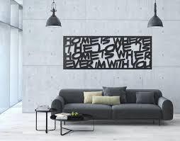 framed metal art interior decor metal
