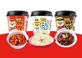 Pororo Tteokbokki Toppoki Instant Korean Rice Cake 120g Cup 2