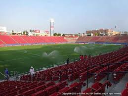 Toyota Stadium Frisco Seat Views Section By Section