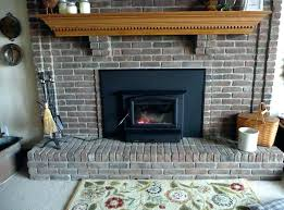 installing a fireplace insert how to install gas fireplace insert propane gas fireplace insert installing fireplace
