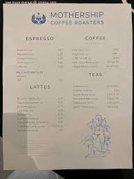 Total 4 active mothership coffee coupons, promo codes and deals are listed and the latest one is updated on feb 16, 2021 23:27:57 pm; Online Menu Of Mothership Coffee Roasters Restaurant Las Vegas Nevada 89101 Zmenu