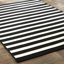 s black and white striped outdoor rug home depot