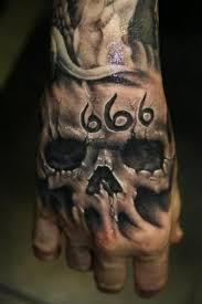 Tetování Lebka Ruka Skull Tattoo Galerie Tetováníblogcz