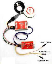 fpv flight controller n2 osd module gesture throttle display three page selectable chinese dji type iosd self definition adds gesture display horizontal line display throttle display flight mode display