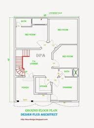 Small Picture 5 Marla house Plan and map with Detail 25x33 House Plan House