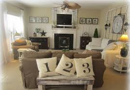 ... Traditional Living Room Ideas With Fireplace And Tv Brown Linen Long  Sofa White Long Sofa Covers ...