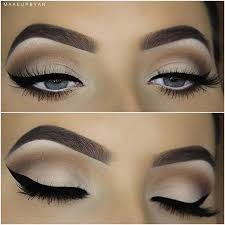 chic eyeliner flick for fall makeup looks