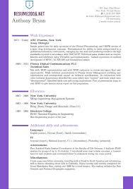 Best Resume Format Extraordinary Resume Format Best Formats For Resumes Resume Format